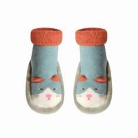 馨颂    宝宝中筒地板袜 保暖学步鞋