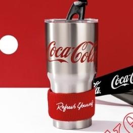 MINISO 名创优品 可口可乐系列 不锈钢保温杯 850ml