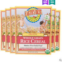 EARTH'S BEST 世界最好 婴儿米米粉 227g*6盒