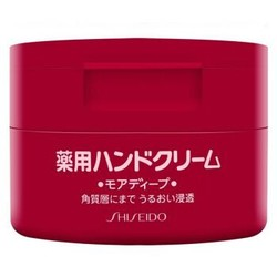 SHISEIDO 资生堂 弹力尿素护手霜 100g  *8件