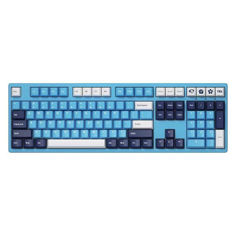 AKKO 3108DS 天空之境 机械键盘 108键 TTC轴