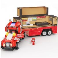 布鲁可  交通工具系列 欢乐大篷车 超卡+乐园桶