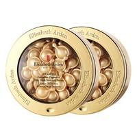 预售、考拉海购黑卡会员:ElizabethArden 伊丽莎白·雅顿 金胶新版 金装时光修护面部精华胶囊 60粒*2件装