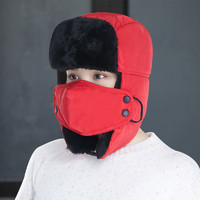 唐冠 LFM2016066 男女款无护脖保暖雷锋帽