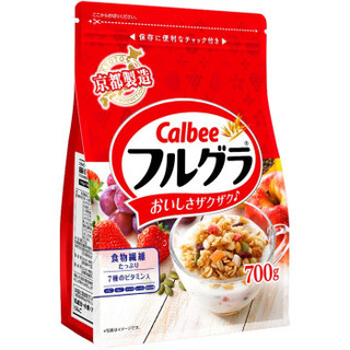 Calbee 卡乐比 富果乐 水果麦片 700g/袋 *4件 +凑单品