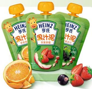 Heinz 亨氏 果泥婴儿吸吸袋 14袋