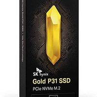 SK Hynix 海力士 Gold P31 PCIe SSD固态硬盘 1TB