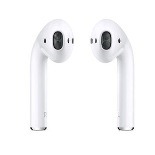 Apple 苹果 AirPods 2 海外版 半入耳式无线蓝牙耳机 无线充电盒 白色