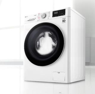 LG 乐金 纤巧系列 直驱 滚筒洗衣机