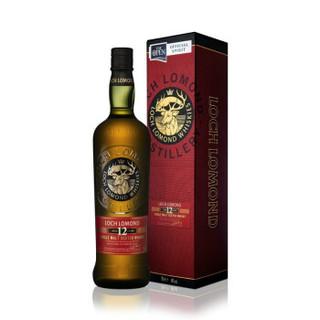 Loch Lomond 罗曼湖 12年 高地产区  麦芽威士忌 700ml *2件