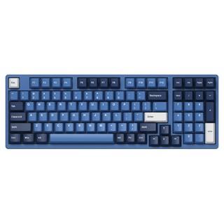 Akko 艾酷 3098DS 98键 有线机械键盘 海洋之星 AKKO蓝轴 无光