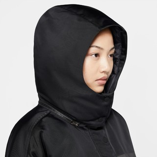 NIKE 耐克 Sportswear Down-Fill City Ready 女士运动羽绒服 CZ1142-010 黑