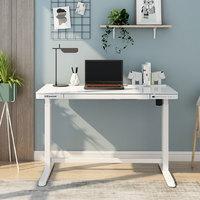 补贴购:Loctek 乐歌 玻璃面电动升降桌 120*60*72cm(支持快充)