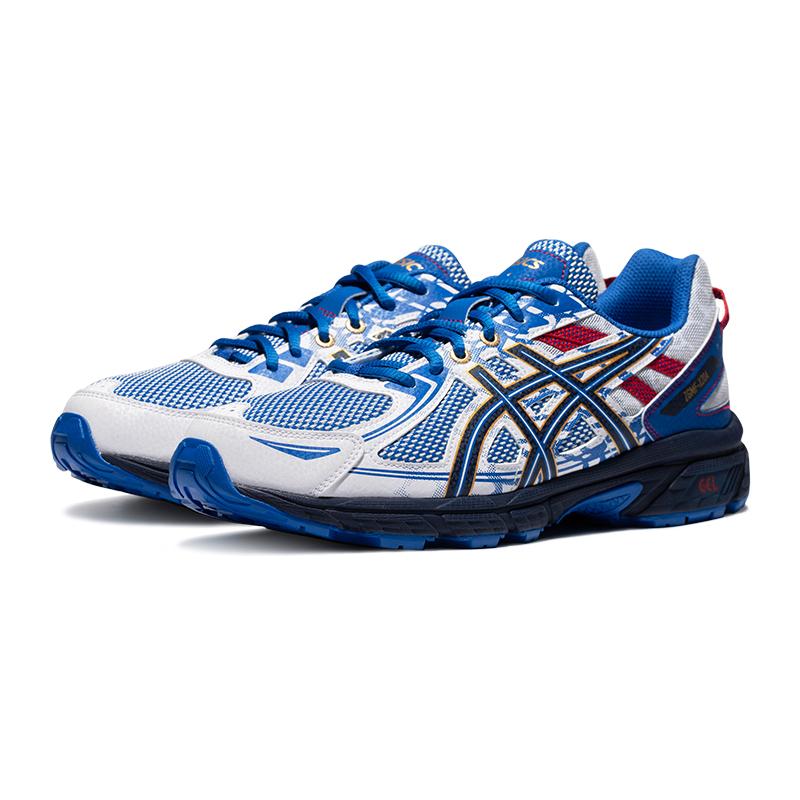 ASICS 亚瑟士  GEL-VENTURE 6 男士跑鞋 1011B287-400 蓝色/白色 40