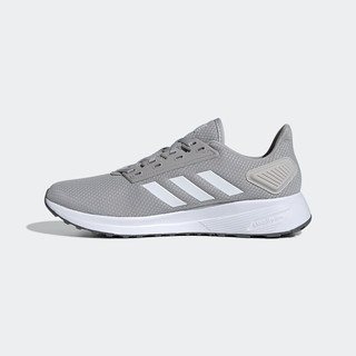 adidas 阿迪达斯 DURAMO 9 男士跑鞋 EG7923 二度灰/亮白 45
