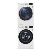LG 乐金 FCV10G4W+RC90U2AV2W 热泵洗烘套装 奢华白