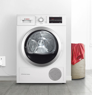 BOSCH 博世 4系 WTW875601W 烘干机 9kg 白色