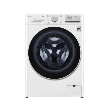LG 乐金 FCX90Y2W 滚筒洗衣机 9kg 奢华白
