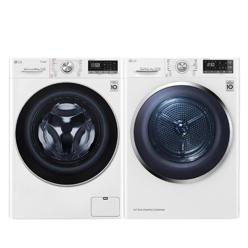 LG 乐金 FLW10G4W+RC90U2AV2W 热泵洗烘套装