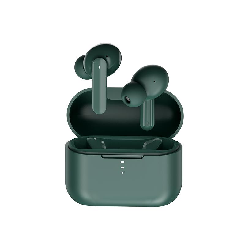 QCY T10 入耳式蓝牙耳机 卡特绿