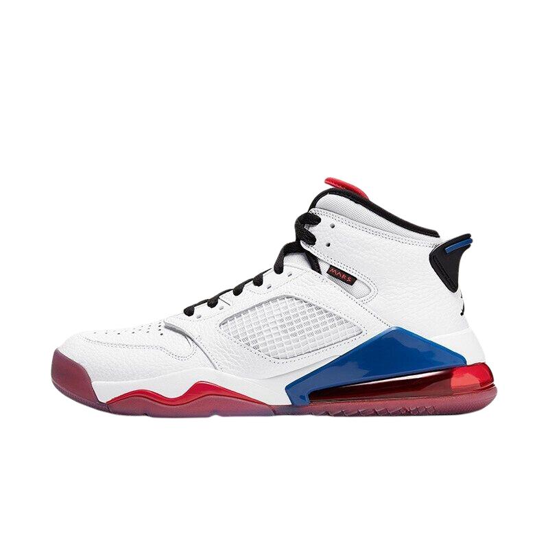 AIR JORDAN Mars 270 男士篮球鞋 CD7070-104 白/红/蓝 42.5