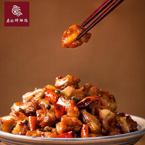 廖记棒棒鸡香辣脆骨肉好吃的网红零食熟食130g即食