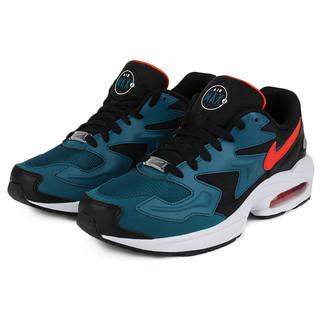 NIKE 耐克 Air Max 2 Light 男士休闲运动鞋 AO1741-004 靛蓝/黑色 41