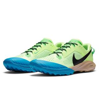 NIKE 耐克 Air Zoom Terra Kiger 6 男士跑鞋 CJ0219-700 微黄绿/葛绿/激光蓝/黑 40