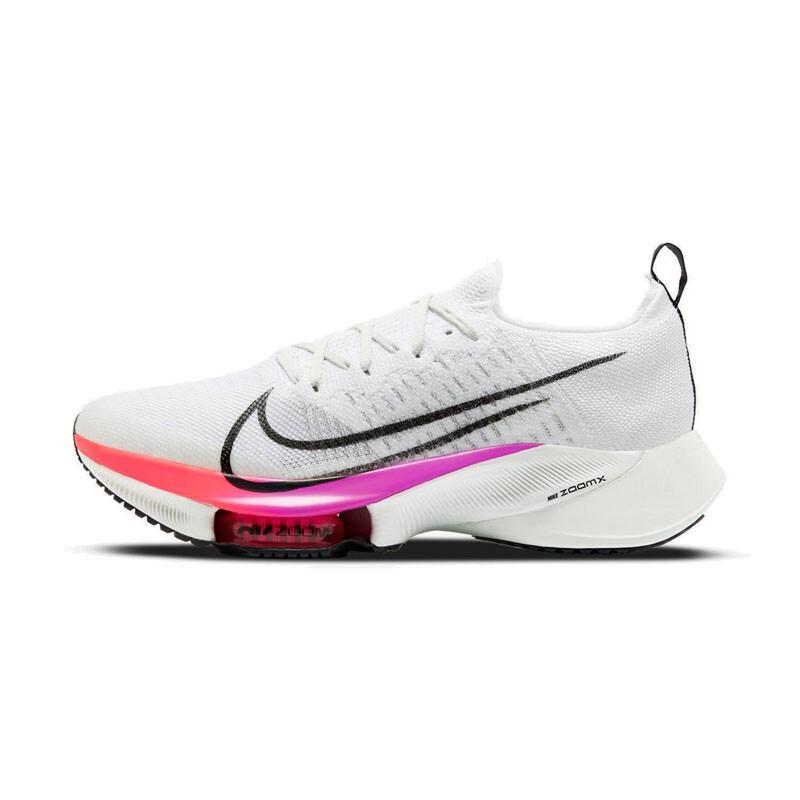 NIKE 耐克 Air Zoom Tempo Next% 男士跑鞋 CI9923-100 白/黑/紫罗兰 39