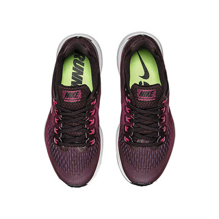 NIKE 耐克 Air Zoom Pegasus 34 女士跑鞋 880560-603 黑红 35.5