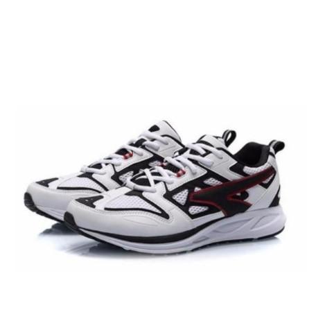 LI-NING 李宁 跑步系列 男士跑鞋 ARHP103-1 标准白/标准黑/公牛红 39
