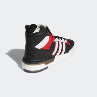 adidas Originals Rivalry RM 男士休闲运动鞋 EH2181 黑色/亮白/浅猩红/晶白 42