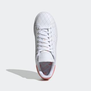 adidas Originals Stan Smith 女士休闲运动鞋 FV4070 亮白/荣耀粉 37