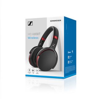 SENNHEISER 森海塞尔 HD 458BT 头戴式耳机 黑色
