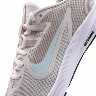 NIKE 耐克 Downshifter 9 女士跑鞋 AQ7486-007 天蓝/浅粉灰/白 35.5