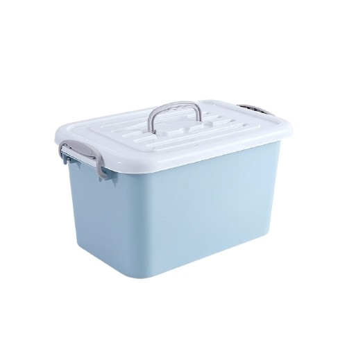 AISIDUN 爱思顿 加厚塑料收纳箱 10L*3个