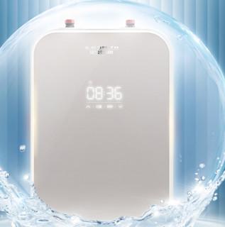 A.O.SMITH 史密斯 热水器软水机套装 D6系列JSQ33-D6燃气热水器16L 天然气+S05T-A1软水机
