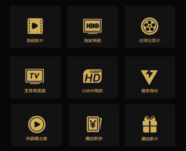 腾讯视频超级影视VIP会员年卡 (支持TV端会员)