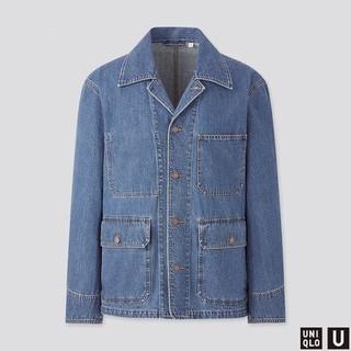 UNIQLO 優衣庫 435125 男裝牛仔工裝夾克