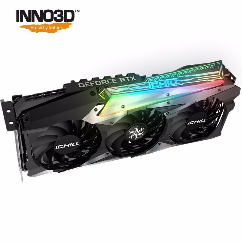 Inno3D 映众 GeForce RTX 3090 冰龙版 24GB GDDR6X 龙之翼显卡