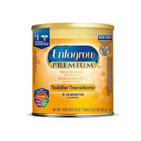 京东PLUS会员:MeadJohnson Nutrition 美赞臣 Enfagrow Premium 幼儿奶粉 2段 567g *7件