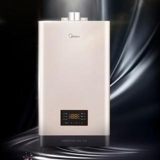 Midea 美的 安全系列 JSQ22-12HC4 燃气热水器 12L 天然气(12T)