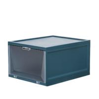 Citylong 禧天龙 G-53088  开窗式收纳鞋盒 4个装 云雾蓝 27.5*33.5*19cm