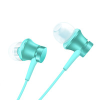 MI 小米 清新版 入耳式有线耳机 蓝色 3.5mm