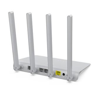360 V2 1200M WiFi 5 千兆双频 家用路由器 白色