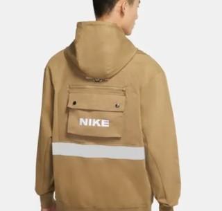 NIKE 耐克 Sportswear City Made 男子套头连帽衫 DB3748-303 海藻棕/白色