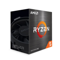 京东PLUS会员:AMD 锐龙系列 R5-5600X CPU处理器