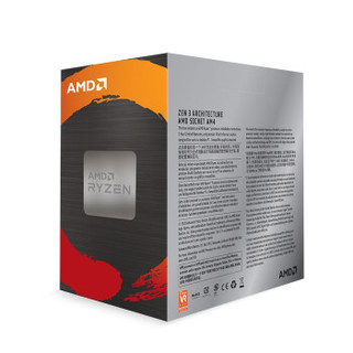 AMD 锐龙系列 R5-5600X CPU处理器 6核12线程 3.7GHz