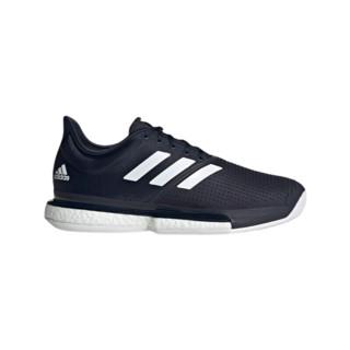 adidas 阿迪达斯 SoleCourt M 男士跑鞋 FU8115  墨水蓝/白色 39