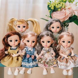 HUIQIBAO TOYS 汇奇宝 芭比娃娃礼盒 随机一款